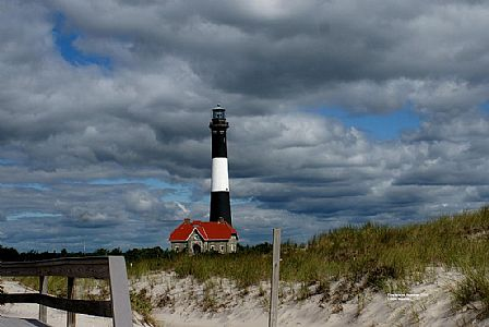 Fire Island Lighthouse Autumn