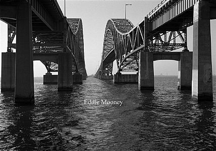 Under The Bridge (B/W)-  Robert Moses Bridge